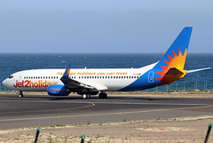G-JZBE_01 (GH@BHD) Tags: gjzbe boeing 7378mg jet2 jet2holidays ls exs 737 738 737800 b737 b738 ace gcrr arrecifeairport arrecife lanzarote aircraft aviation airliner