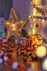 Christmas in Provence (jeromedelaunay_paris) Tags: christmas family winter light red colors star decoration gift present santaclaus christmastime france europe provence vaisonlaromaine