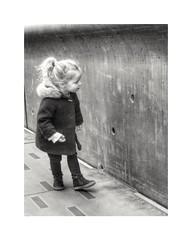 The small holes... (streetspirit13) Tags: children enfant bnwphotographer bnwdemands bnwphotography bnw bnwstreetphoto bw blackandwhite blancoynegro noiretblanc mucem streetphotographer streetpassionaward marseillestreet candidstreetphotography capturestreet candid