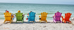 colors of Pass-a-Grille 3 (albyn.davis) Tags: passagrille beach colors colorful ocean water people chairs furniture travel panorama vacation relaxing florida usa hdr