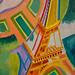 Robert Delaunay, Eiffel Tower, 1924, oil on canvas 9/28/19 #stlartmuseum