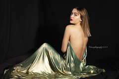 Giulia B (petrusphotography) Tags: women people indoor beautiful womaningold goldendress dress style goldcolor glamour fashion model girl fineart fashionmodel young cute seduction female canon eos 5dmarkiv portrait petrusphotography tamron sp2470f28divcusd