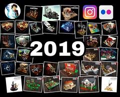 Bye Bye 2019 - My LEGO year (KevFett2011) Tags: kevfett2011 lego happy new year 2019 2020 mocs build building bricks star wars netflix red dead redemption 2 vignette landscape space lightsaber instagram support thankful thank you skywalker