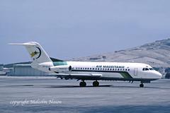 FOKKER F28-4000 5T-CLF AIR MAURITANIE (shanairpic) Tags: laspalmas jetairliner passengerjet f28 fokkerf28airmauritanie 5tclf