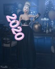Happy New Year ! ♥ (MeigaBea) Tags: avaway cosmopolitanevent minahair safira secretpose shinyshabby