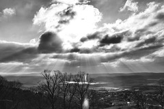 The Sun (Missing Pictures) Tags: nature explored explore clouds cloud rays wintertime winter sunny sun bright hungary travel traveling white blackandwhite black monochrome sky