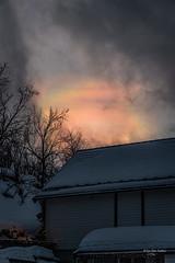 Perlemorskyer over huset vårt (mirrormatch) Tags: skyer hjemme åttringen perlemorskyer clouds