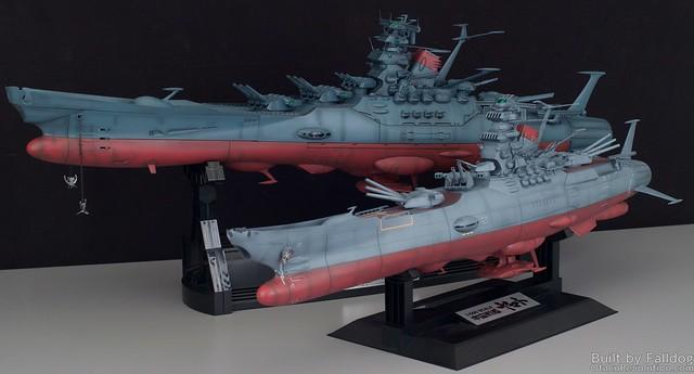 1-500 Space Battleship Yamato WIP 5 by Judson Weinsheimer