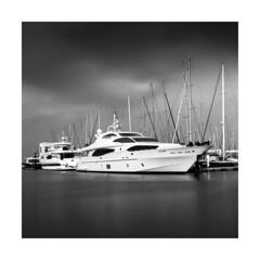 local port (young00) Tags: hasselblad 500cm kodak tx 400 epson v850 medium dibai port boat local long 120mm sea exposure