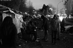 """Ghost Children Place 45"" (TBWLC Photography) Tags: bw monochrome nb fdrouet tbwlc street nikon refugees slum d610 aubervilliers bidonville réfugiés migrantcamp campdemigrants"