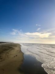 Walking along the Pacific Coast (JoeGarity) Tags: sandy sand beach waves shore shoreline oceanbeach sanfrancisco california