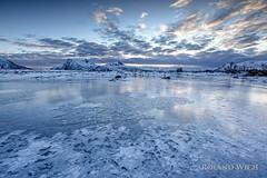 Lofoten (Rolandito.) Tags: europe europa norway norge norwegen norvège lofoten frozen lake