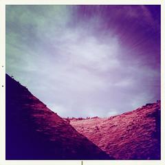 Big Love (travelkaefer) Tags: hurricane myroadtripamerica np nationalpark urlaub utah zion iphone iphonediary us usa ut mountain sky 3gs outdoor nature landscape