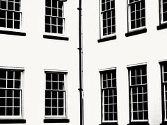 Windows, Zutphen, the Netherlands (bobbykwibus) Tags: black blackandwhite zwartwit lijnen lines ramen windows abstract holland thenetherlands zutphen building historicalbuilding