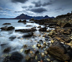 Welcome to my own heaven. (lawrencecornell25) Tags: landscape waterscape elgol skye scenery scotland scenic isleofskye cuillin mountains rockyshore longexposure nature outdoors travel adventure nikond850 cloudy