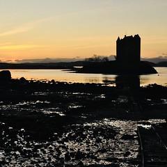 (odysseus62) Tags: december 2019 sunset scotland argyll castlestalker hogmanay