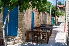 The Local Taverna (George Plakides) Tags: taverna lofou cyprys tables chairs traditional rustic