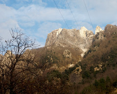 Cave di marmo - Cervaiole (Darea62) Tags: landscape decay nature marble quarry tree winter versilia alpiapuane montealtissimo toscana italy cable wire sky clouds december