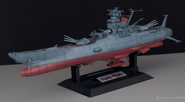 1-500 Space Battleship Yamato WIP 1 by Judson Weinsheimer
