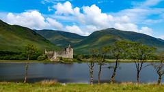 Kilchurn Castle - Scotland (Ralph_H) Tags: castle scottland schottland kilchurn clouds trees water juin 2018 ngc uk unitedkingdom