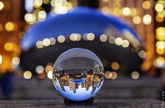 A Bean in My Future (rjseg1) Tags: ball lens cloudgate kapoor chicago bean millennium