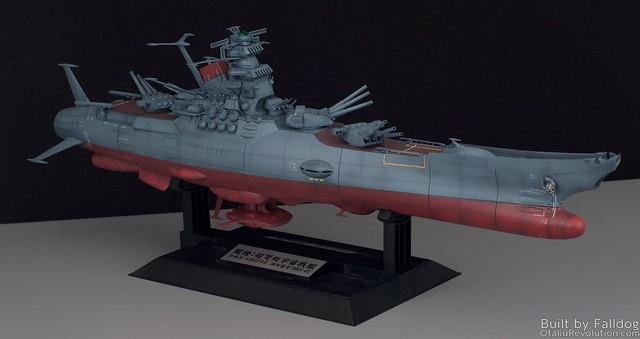 1-500 Space Battleship Yamato WIP 2 by Judson Weinsheimer