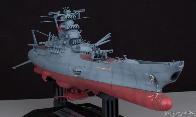 1-500 Space Battleship Yamato WIP 4 by Judson Weinsheimer