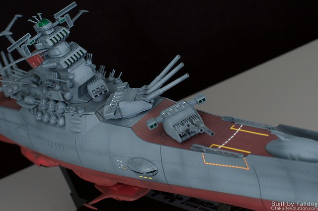 1-500 Space Battleship Yamato WIP 6 by Judson Weinsheimer