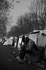 """Ghost Children Place 46"" (TBWLC Photography) Tags: fdrouet tbwlc nb bw monochrome slum bidonville campdemigrants migrantcxamp refugiés refugees nikon d610 aubervilliers street"