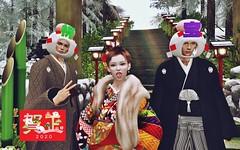 A Happy New Year !! (Renaka3) Tags: okinawa secondlife セカンドライフ 010120 初詣 kimono