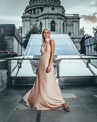 Aiste @ St Paul's Revisit (AndyBakerUK) Tags: stpauls london bakeroninsta andybakeruk portrait godox ad200 tamron2875mmf28diiiirxd sonyalphadslr creativeportraits beautiful model fashion sony sonya7riii sonya7ii sonyimages