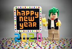 Lego Happy New Year 2020 (Pasq67) Tags: moc lego pasq67 afol toy toys flickr legography france minifigs minifig minifigure minifigures happynewyear happy new year bonneannée bonne année 2020 originals legooriginals the joker thejoker