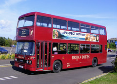 87 EIG9487 (PD3.) Tags: bus buses hampshire hants england uk gosport lee solent stokes bay station fareham provincial society preserved vintage coach seafront sea front leylandolympianecwexl121c121chmnewtolondonbusesltd thisleylandolympianhasbeenwithbrijantourl121eig9487eig9487l131c121chm c121chm