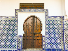Blue City, Chefchaouene, Morocco, 摩洛哥 - the mosque (cattan2011) Tags: exploringthemorocco tradition culture traveltuesday travelbloggers travelphotography travelphoto travel landscapephotography landscape arches buildings architecturephotography architecture bluemorocco morocco bluecity mosque