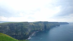 Cliffs of Moher on a cloudy day