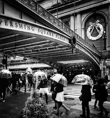 New York City / 42nd Street (Golden Wheels) Tags: christmas nyc rain brooklyn shopping harlem manhattan queens grandcentralterminal newyirk edwardwallacephotography stayenisland bronx