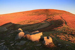 (OutdoorMonkey) Tags: bluesky sunshine sunlight morning pencerrigcalch breconbeacons nationalpark outside outdoor rural nature natural scenic scenery rock boulder hill hillside mountain mountainside countryside