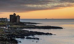 IMG_1325_adj (md93) Tags: largs portencross sunset castle clyde scotland