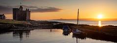 IMG_1321_adj (md93) Tags: largs portencross sunset castle clyde scotland