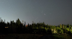 Orion from Coeur d'Alene, Idaho (bencbright) Tags: landscape orion winter xt10 xf1855mmf284 hugin panorama ioptron sky pro lightpollution skytracker