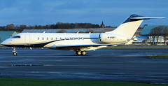 M-PORT (PrestwickAirportPhotography) Tags: egpk prestwick airport bombardier global 5000 mport