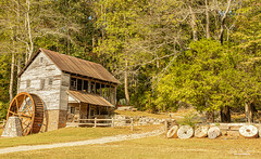 Hacker Martin Grist Mill (Back Road Photography (Kevin W. Jerrell)) Tags: oldbuildings museumofappalachia backroadphotography daysgoneby countryroads gristmills nikond7200 sigmalens andersoncounty clinton tennessee historic