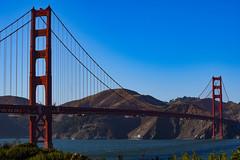 Golden Gate Bridge, San Francisco, California (dora.hgds) Tags: americathebeautiful california america usa sanfrancisco goldengate goldengatebridge sanfranciscobay thegoldenstate