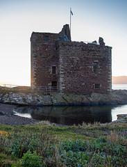 IMG_1313_adj (md93) Tags: largs portencross sunset castle clyde scotland