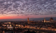 HAPPY 2020 (Luna y Valencia) Tags: florence florencia firenze night sunset 2020 piazzalemichelangelo