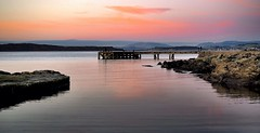 Portencross (billmac_sco) Tags: scotland portencross sunset water sea scenic landscape