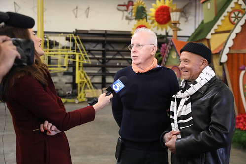 Rose Parade Float Judging 2019