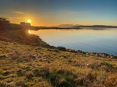 IMG_2078_adj (md93) Tags: westkilbride scotland unitedkingdom largs portencross sunset clyde
