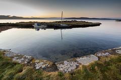 IMG_1356_adj (md93) Tags: largs portencross sunset castle clyde scotland