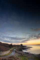 IMG_1343_adj (md93) Tags: largs portencross sunset castle clyde scotland